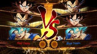 Dragon Ball FighterZ: Base Goku & Base Vegeta Gameplay! DLC 3 - Johnic