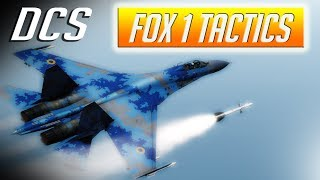 DCS: Fox-1 Semi Active Radar Tactics in the Su-27 Flanker