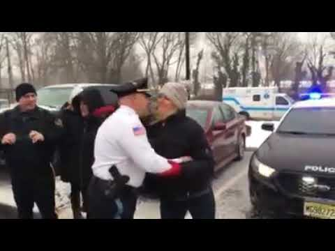 Retired Police Chief Frank Ramaci's final walkout (Feb. 12, 2019)