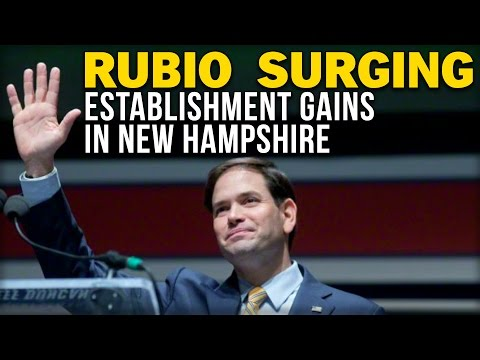 RUBIO SURGING: ESTABLISHMENT GAINS IN NEW HAMPSHIRE