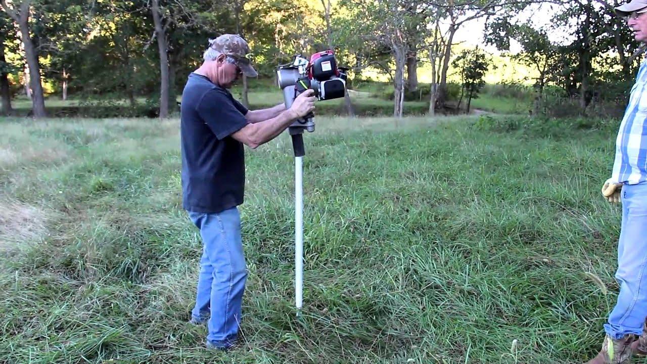 rhino post driver poly post powerflex fence
