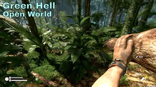 GREEN HELL Gameplay Open World Survival Game 2018