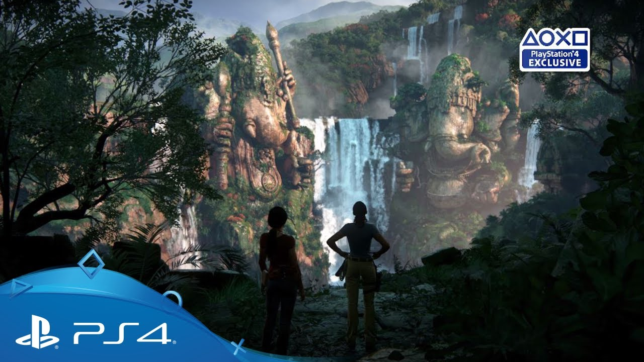 uncharted the lost legacy e3 2017 story trailer ps4. Black Bedroom Furniture Sets. Home Design Ideas
