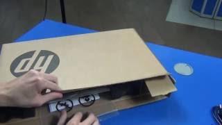 HP ProBook 450 (P5S63EA) - розархівація (unboxing)