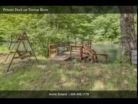 Charming cabin on Mighty Toccoa River!