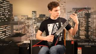 (TABS) Livin' Life(On The Edge Of The Knife) - BFMV GUITAR COVER