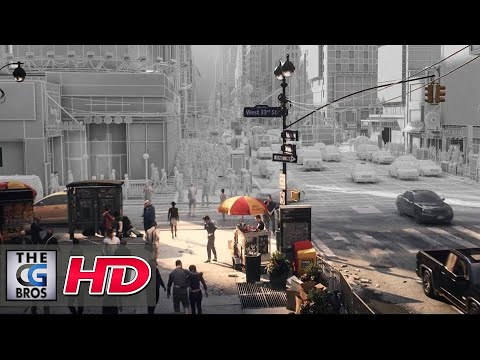 "CGI 3D/VFX Breakdown: ""The Division: Yesterday - Making Of"" - by Unit Image"