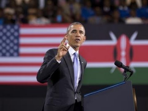 US President Barack Obama's speech to Kenyans at Safaricom indoor Arena, Kasarani Stadium