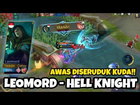 New Hero Leomord Serem!! Fighter Auto Maniac!! | Mobile Legends Indonesia