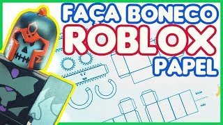 How to make your paper Roblox doll