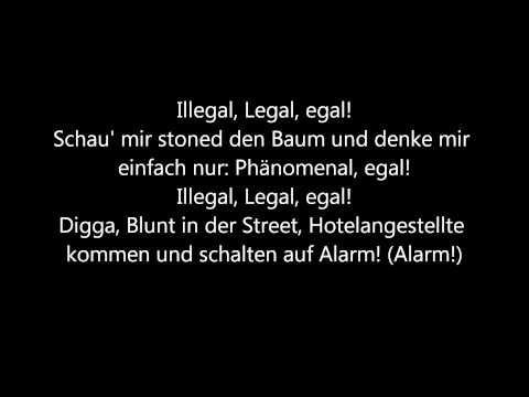 SSIO feat. Nate57 & Telly Tellz - Illegal, Legal, Egal (Lyrics) [HQ]