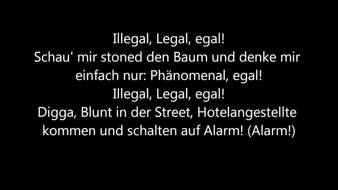 Ssio Feat Nate57 Telly Tellz Illegal Legal Egal Lyrics Hq