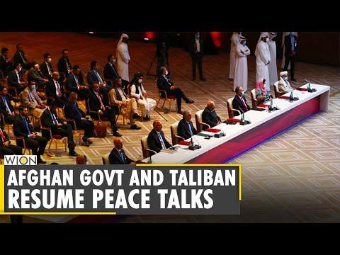 Doha Peace Talks: Afghan, Taliban negotiators hold talks in Doha   Latest World English News