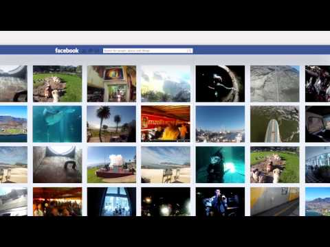 The Storybook: Cape Town Tourism  'Send Your Facebook Profile To Cape Town'
