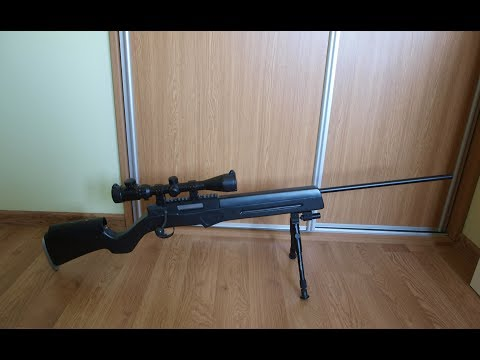 how to make a homemade sniper rifle