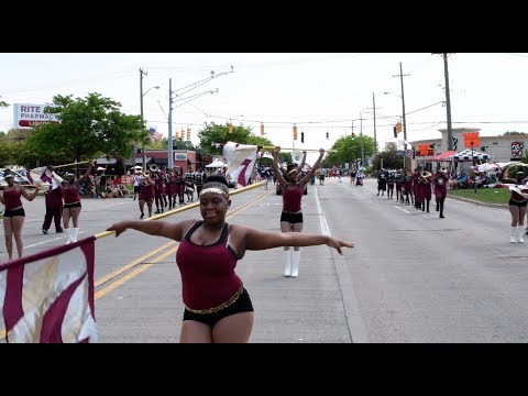 River Rouge High School @ the 2018 St. Claire Shores Memorial Day Parade