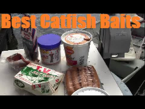 Catfishing Bait Tips - Chicken Livers Vs Worms Vs Shrimp Vs Hotdogs Vs Dough Baits