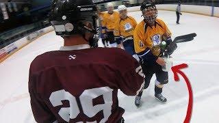 He REFUSED to Shake Hands | GoPro Beer League Hockey