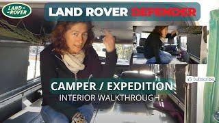 Land Rover Defender 110 Overland/Camper pt2 Interior