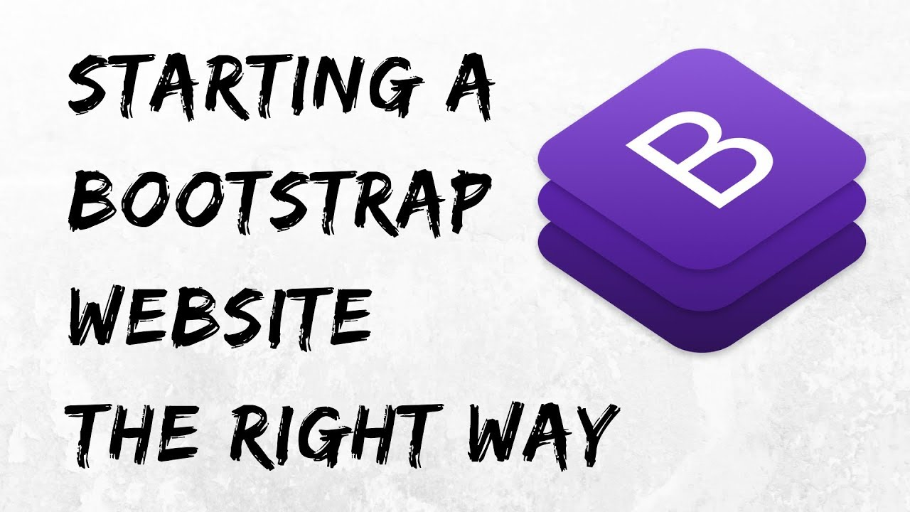 Creating a Responsive Bootstrap 4 Website From Scratch 2019