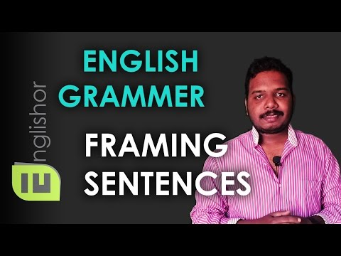 Framing English Sentences Using Grammatical Person | Learn English Grammar In Hindi