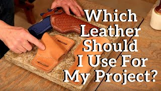 The Leather Element: Whİch Leather Should I Use For My Project?