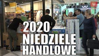 #Niedziele #handlowe 2020. W które niedziele zrobimy zakupy w 2020 roku? wideo video