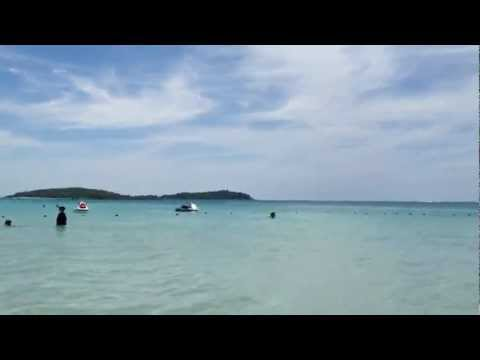 Chaweng Beach, Koh Samui, Thailand. 9 August 2012 11am. (HD 1080P)