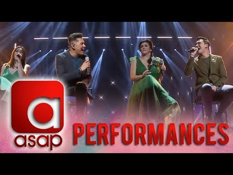 ASAP: Regine Velasquez joins Gary V, Erik and Angeline in a powerful vocal treat