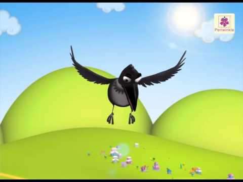 A Thirsty Crow Story | A 3D English Story for Children | Periwinkle | Story 1