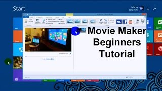 Windows Movie Maker Tutorial - Tips & Tricks & How To's - Video Editing Software Free - 2015 Full(An easy Windows 8.1
