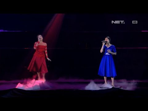Isyana & Raisa - Mimpi & Anganku Anganmu - LIVE From NET 4.0 Presents Indonesian Choice Awards 2017