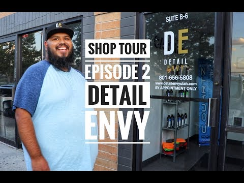 "Shop Tour Episode 2! Inside ""Detail Envy"" - shop layout + detailing tips/tricks"