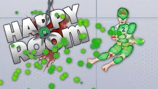 Happy Room - Finality! Unlocking Every Achievement! - Lets Play Happy Room Funny Moments