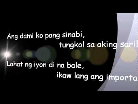 Itchyworms - Gusto Ko Lamang Sa Buhay w/ Lyrics