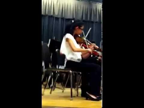 Piedmont IB Middle School, NC: Boulevard of Broken Dreams - (8th Grade Orchestra)