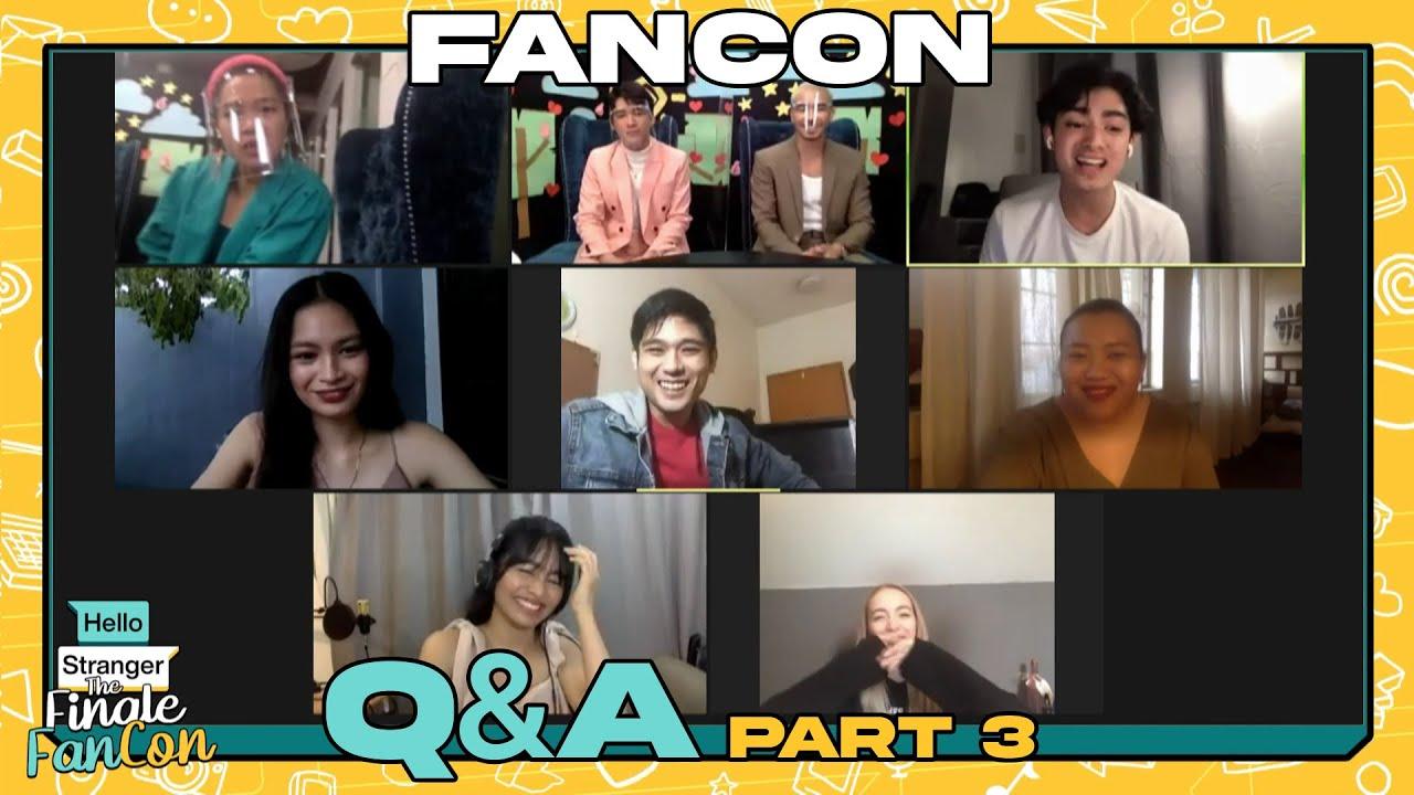 The Finale Fancon Q&A Part 3 | Hello Stranger