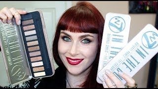 5 naked palette dupe w7 in the buff eyeshadow palette plus giveaway