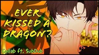 ASMR| Flirty Dragon Boy Seduces You x🖤[m4a] [Collab ft. SubDub] [Strangers to lovers] [Steamy]