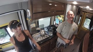 RV Propane vs Induction Boil Off