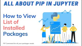 How to view tнe list of installed packages with version in Python Jupyter Notebook using PIP Command