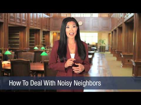How To Deal With Noisy Neighbors