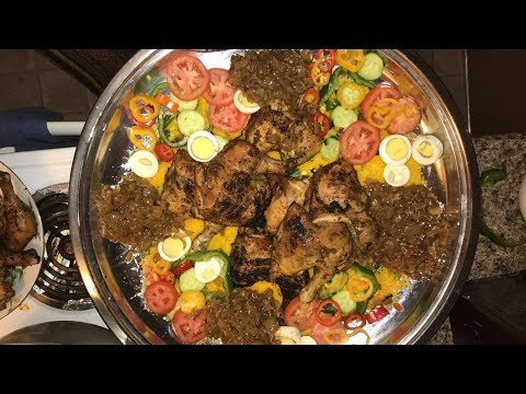 Senegal - Couscous and Chicken - Good Recipe for Eid