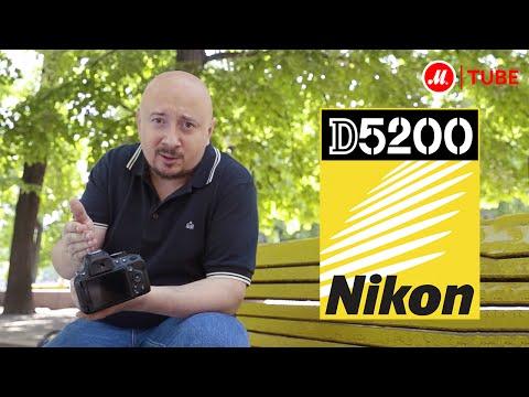 Видеообзор зеркального фотоаппарата Nikon D5200
