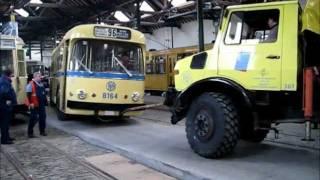Musée du Tram Bruxelles - Préparation de la saison 2012 - 1/3