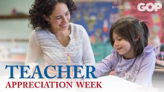 Sen. Lucido: Teacher Appreciation Week