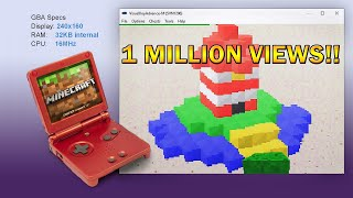 Minecraft on the Game Boy Advance in 2019
