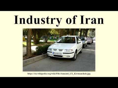 Industry of Iran