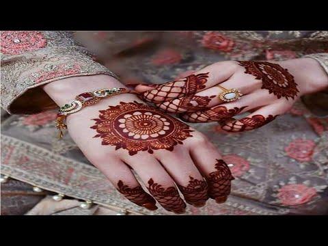 Beautiful tikiya mehndi design by mk // She Trends MK