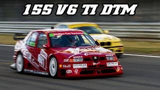 1994 Alfa Romeo 155 V6 TI DTM - Great intake sound @ 11.000 rpm (Nürburgring 2018)